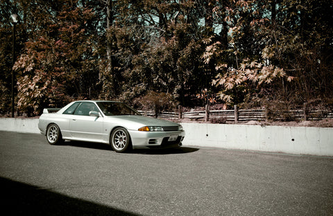 Random Snaps: Japan - GTR R32 at Asahi Beer Factory