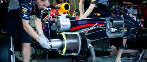 Infiniti Red Bull Racing Garage Tour