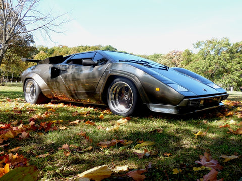 Net Catches : Lamborghini Hand-Made in Basement Garage