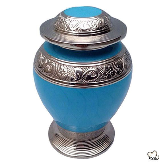 Avondale Infant Cremation Urn - Blue, Infant Urn - Memorials4u