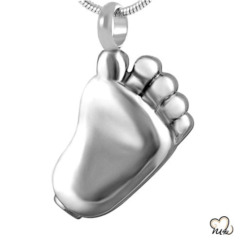 Baby Steps Cremation Pendant Jewelry, Cremation Pendant - Memorials4u