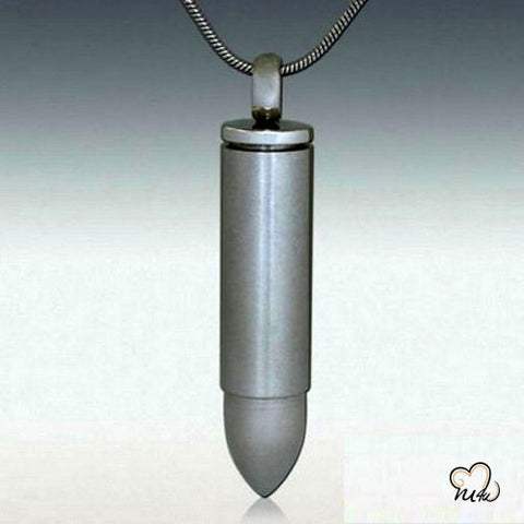 Bullet Premium Cremation Keepsake Jewelry
