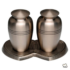 Companion Cremation Urn for Human Ashes