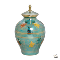 Decorative Butterfly Cremation Urn, Brass Urns - Memorials4u