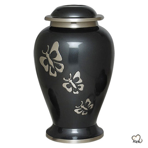 Eternal Butterfly Brass Cremation Urn