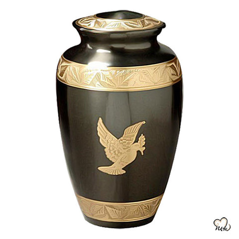 Flying Dove Religious Cremation Urn