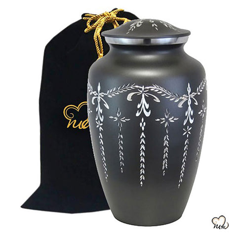 Fancy Flourish Cremation Urn - Large