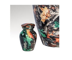 Camouflage Design Cremation Urn for Ashes