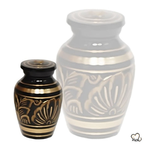 Golden Aura Keepsake Urn