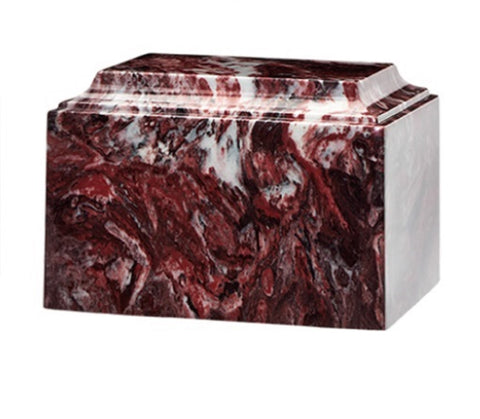 Fire Rock Cultured Marble Urn