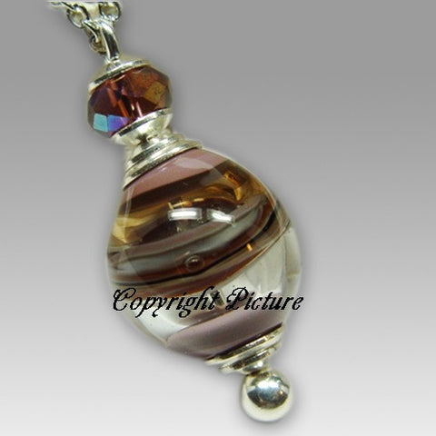 Beautiful Spirit Glass Cremation Pendant