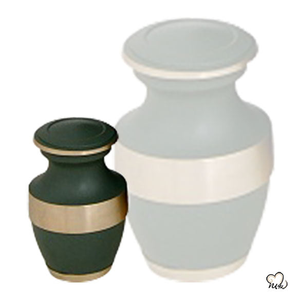 Green Band Keepsake Urn