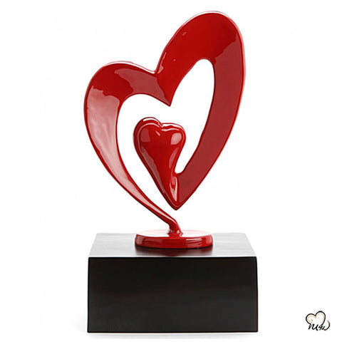 My Heart Art Sculpture Cremation Urn