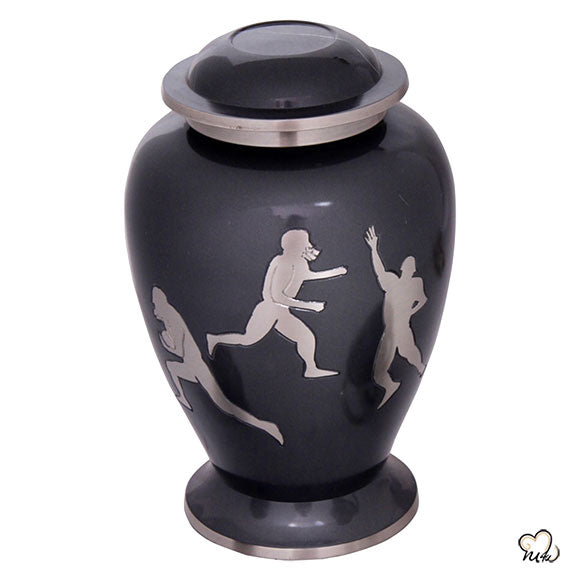 Rugby Sports Cremation Urn