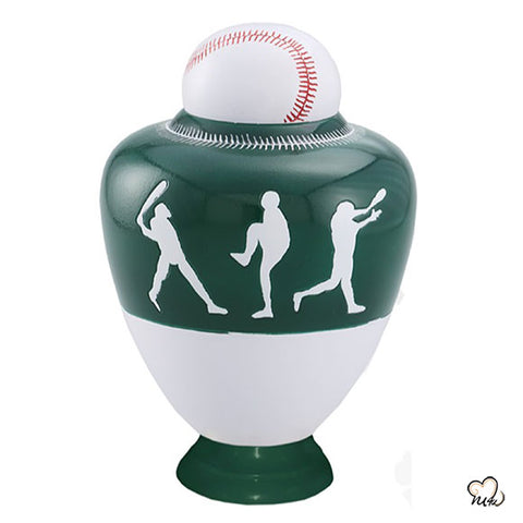 Oakland A's Baseball Sports Cremation Urn