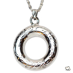 Silver Circle Of Love Jewelry