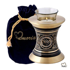 Elite Radiance Tealight Cremation Urn, Tealight Urn - Memorials4u