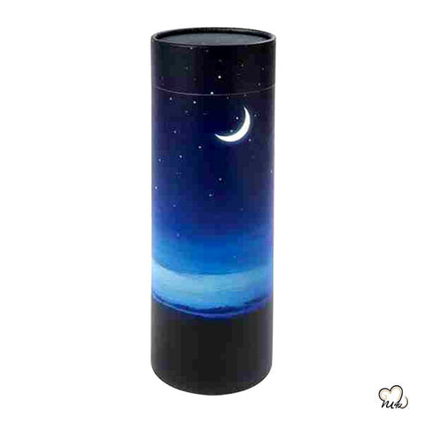 The Night Sky Scattering Tube Adult Urn