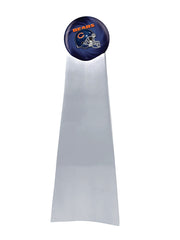 Championship Trophy Cremation Urn with Optional Chicago Bears Ball Decor and Custom Metal Plaque