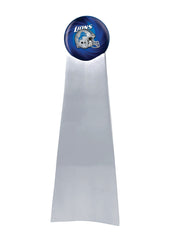 Championship Trophy Cremation Urn with Optional Detroit Lions Ball Decor and Custom Metal Plaque