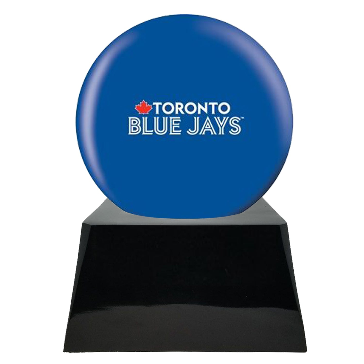 Baseball Team Urn - Toronto Blue Jays Ball Decor with Custom Metal Plaque Baseball Cremation Urn for Human Ashes - MLB URN - Memorials4u