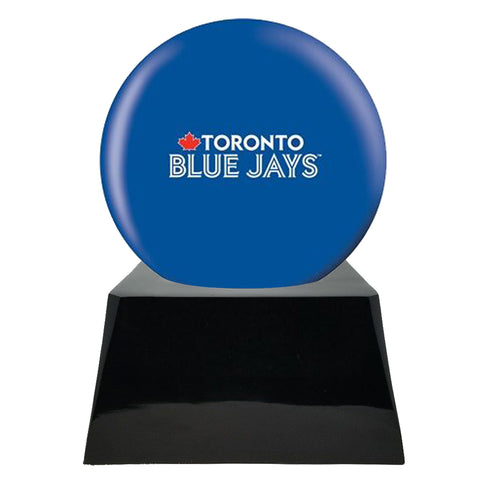 Baseball Cremation Urn with Optional Toronto Blue Jays Ball Decor and Custom Metal Plaque