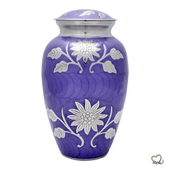 Royal Purple Cremation Urn, Funeral Urns - Memorials4u