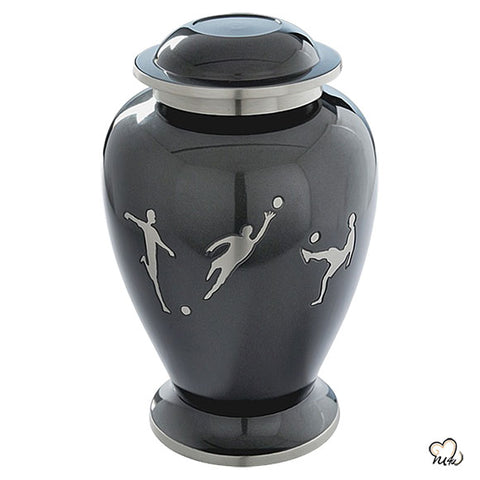 Soccer Sports Cremation Urn