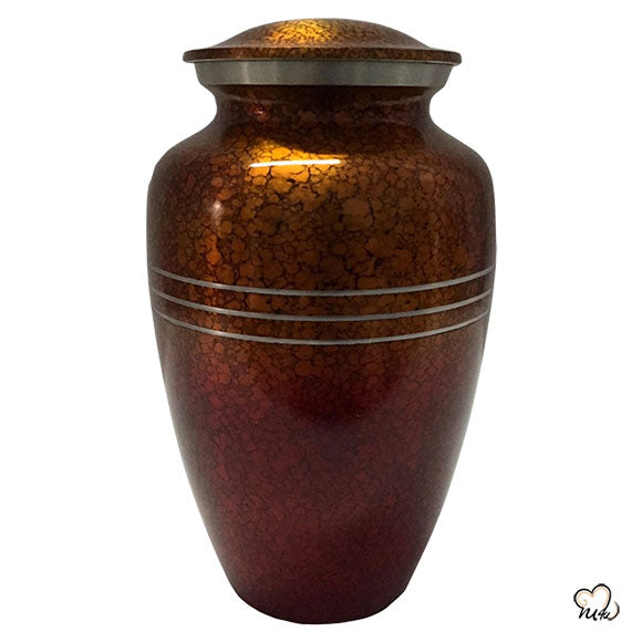 Sunset Drop Alloy Cremation Urn, Alloy Urns - Memorials4u