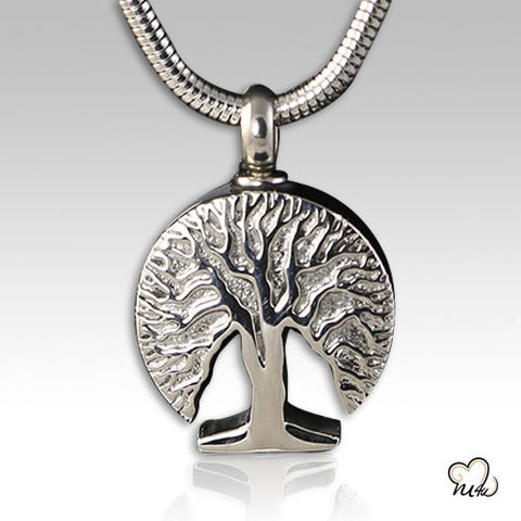 Eternal Tree Cremation Pendant