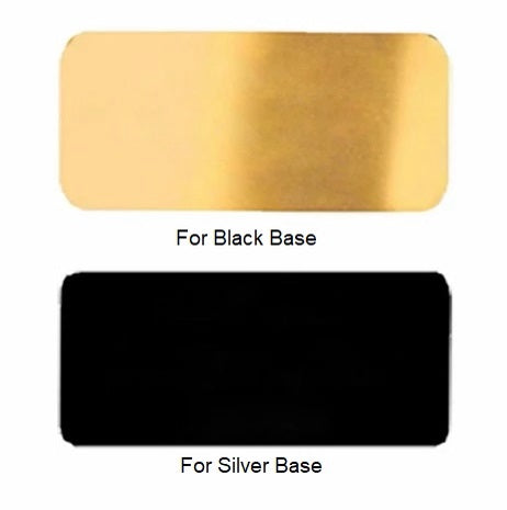 Brass Plate for Urn Base - Add on only