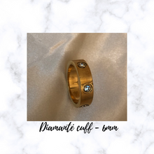 Load image into Gallery viewer, DIAMANTE CUFF