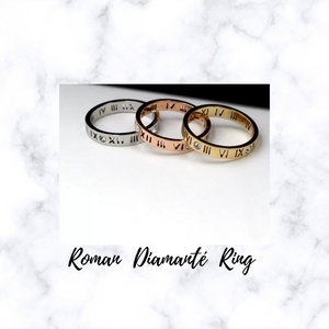 ROMAN DIAMANTE RING