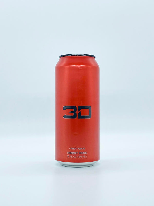 3D Energy - Candy Punch 16oz