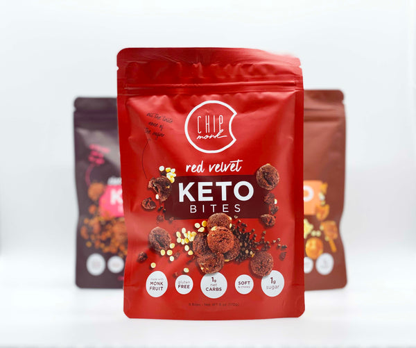 ChipMonk KETO Bites - Red Velvet 6oz