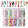 Nail Art Foil Transfer Stickers