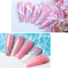3 Color Natural Pink Poly Nail Extension Kit