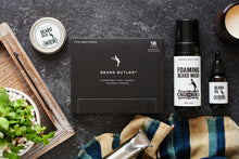 Load image into Gallery viewer, BB® Ultimate Bundle: Sink Guards (18ct) + Beard Oil + Beard Balm + Foaming Beard Wash: Master Bruce™ Collection