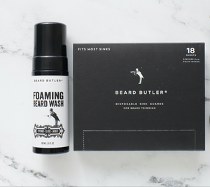 BB® Essentials Bundle: Sink Guards + Energizing Foaming Beard Wash