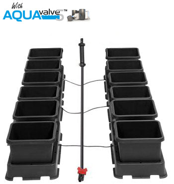 Easy2grow 12 System AQUAValve5 with 8.5L Pots without Tank
