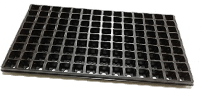 Jiffy Cavity Square Tray (30mm x126) 126 CAVITIES