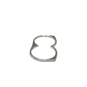 Belter Two Finger Ring - byrogue.co.uk