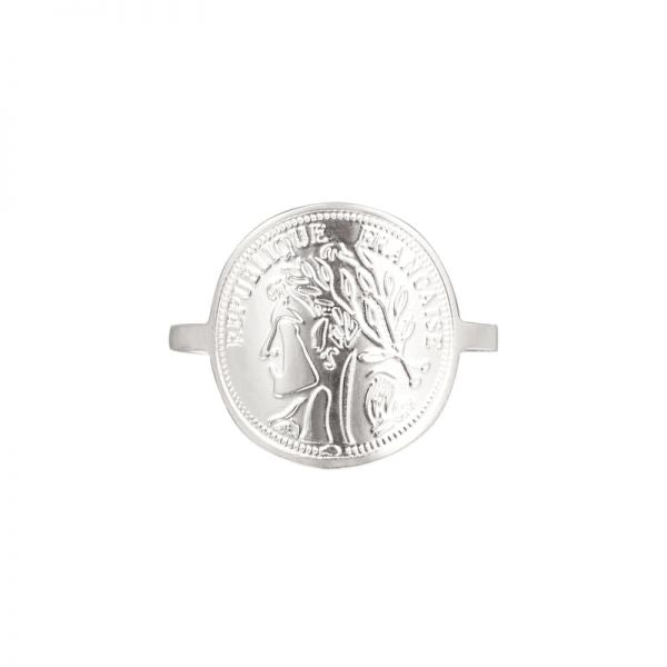 Big Coin Ring French Style - byrogue.co.uk