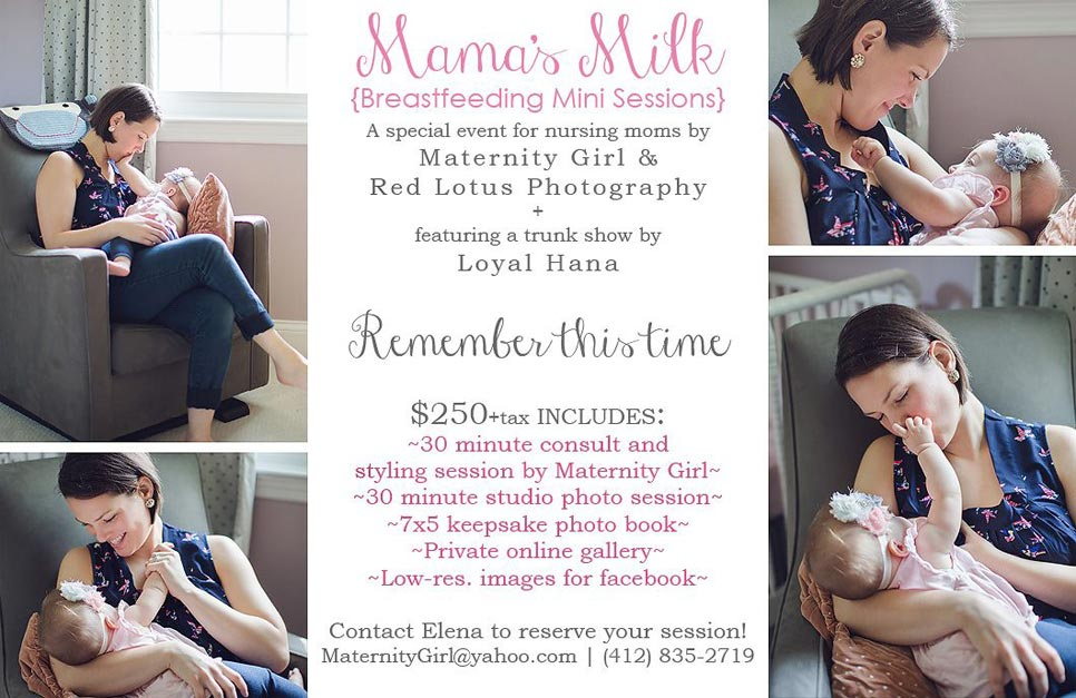 Mama's Milk Breastfeeding Mini Sessions