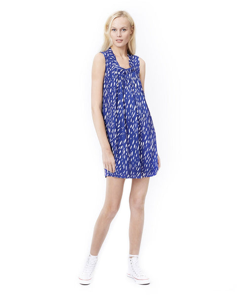 ANYA- BLUE RAINDROP DRESS