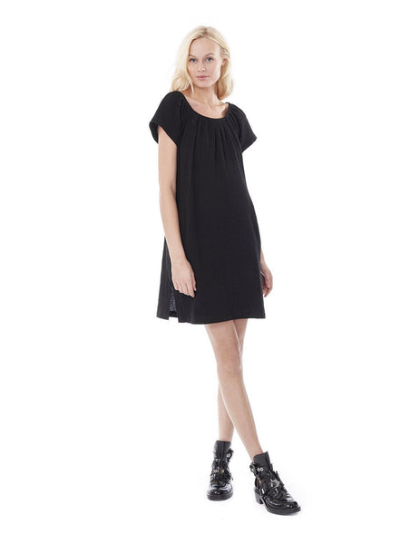 ARIEL- Black Nursing and Maternity Dress