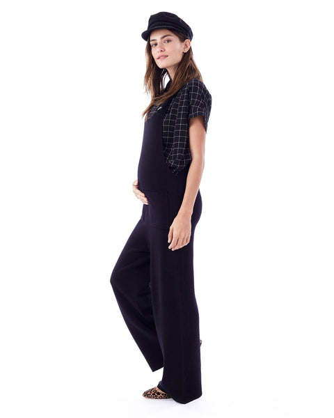 CANDICE- knit jumpsuit in black no zippers