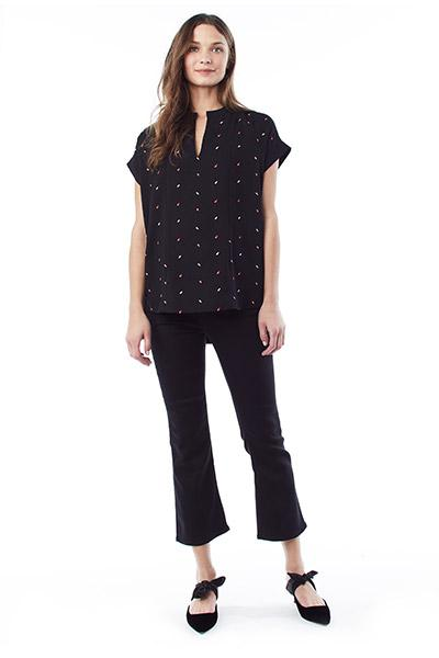 CARRIE - Nursing and Maternity Blouse - TIC TAC