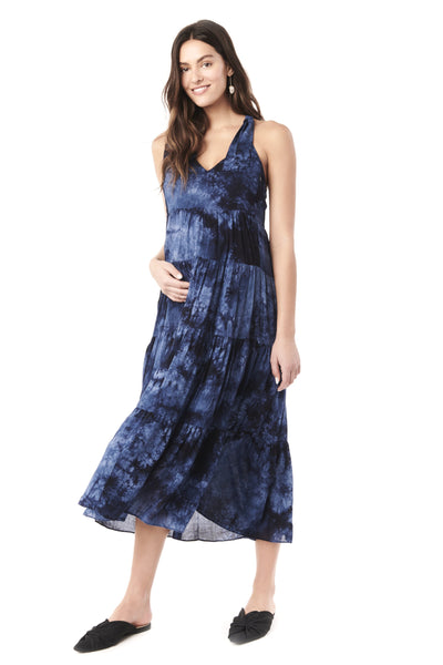 RIO - TYE DYE NURSING AND MATERNITY DRESS