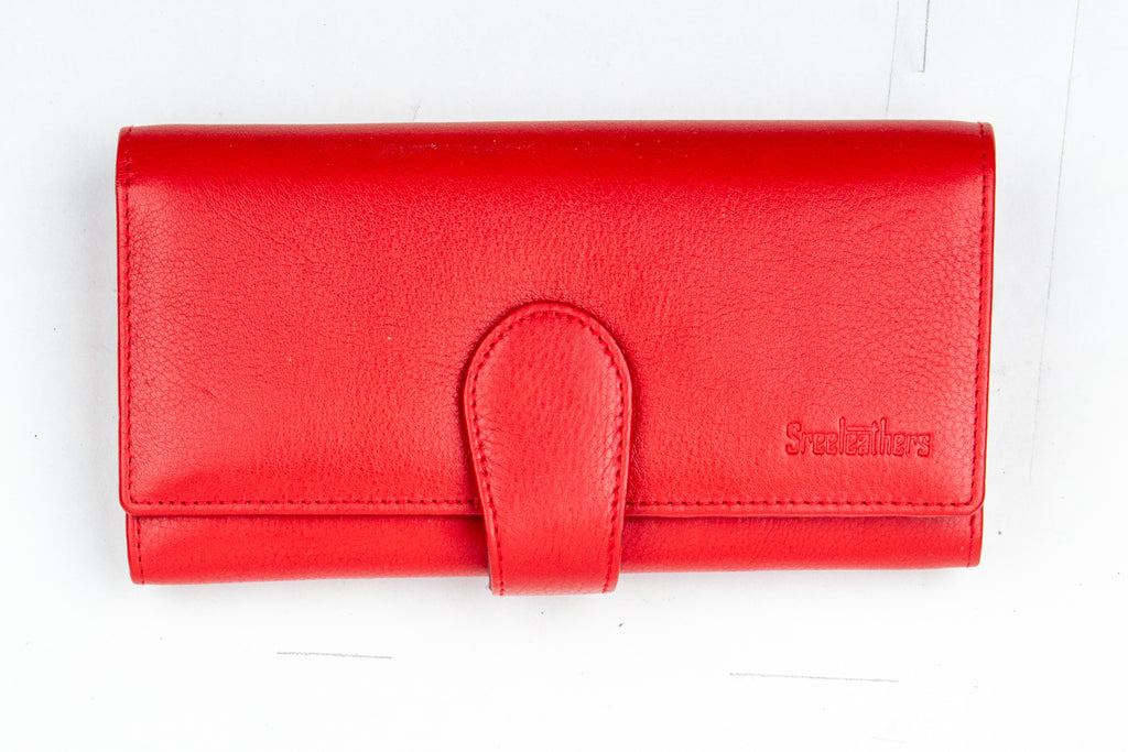 LADIES CLUTCH 97058 (RED)